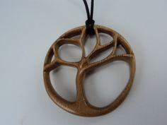 Tree of Life wooden pendant by #etsy seller wickedlywooden $49.95