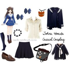 """Tohru Honda Casual Cosplay"" by cupcake-curiosities on Polyvore"