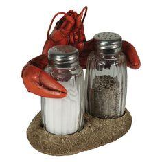 Crawfish Salt & Pepper Shakers Set – Baubles-N-Bling