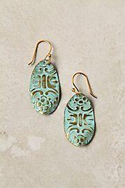 Anthropologie Windcrest Earrings
