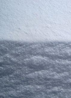 Artist, Allyn Hart - Photograph:  Snow Bank