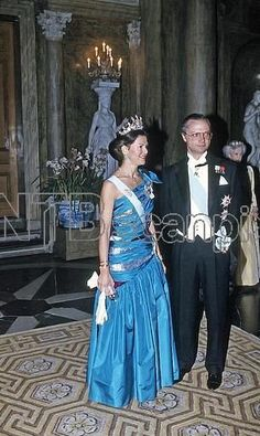 Queen Silvia wore this tiara for the Representative Dinner in March Adele, Queen Of Sweden, Swedish Royalty, Prince Carl Philip, Princess Victoria Of Sweden, Queen Silvia, Casa Real, Royal House, Royal Weddings