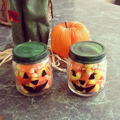Baby food jar ideas for Halloween