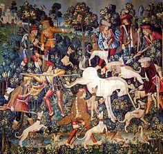 Old Unicorn Painting