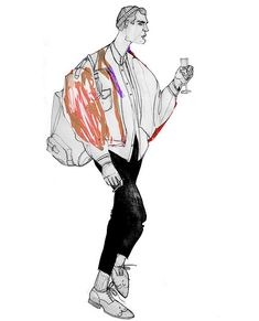 Zoya Smirnova. Fashion illustrations.