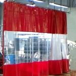 Create the Perfect Industrial Curtain - AmCraft Industrial Curtains, Workplace, Venice, Flexibility, Divider, Track, Create, Wall, Back Walkover