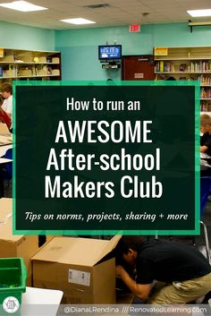 When I first started up my makerspace at Stewart, I knew that getting students in there after school would be the ideal time to really dive deep into projects and develop a community of makers. During those first six months, my school didn't have afterschool clubs but was piloting during school clubs with 6th graders, so we had a small but mighty K'nex Club where we had tons of fun. This gave me a chance to experiment with what running a club was like, and it gave me a lot of ideas for how...