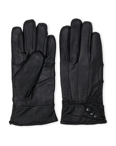 Swany Patchwork Leather Gloves