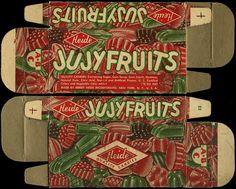 Heide - Jujyfruits - candy box - 1940's 1950's by JasonLiebig, via Flickr