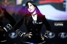 Kim Taeyeon of #SNSD at MBC Gayo Daejun