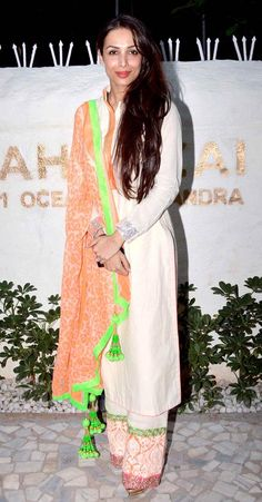 Malaika Arora Khan at the launch of Alvira Agnihotri's new store.