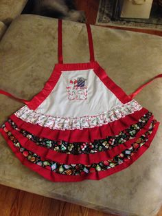 Holiday Kids Apron