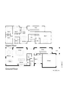 Summit 324 - Hallmark Homes Build Your Own House, Build Your Dream Home, First Home Owners, Large Open Plan Kitchens, Double Storey House, Hallmark Homes, Activity Room, Storey Homes, Ranch House Plans