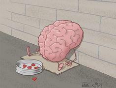 Everyone needs love. Cartoon by Sergey Elkin: http://www.cartoonmovement.com/cartoon/19749