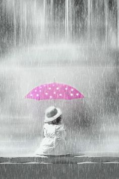 girl,rain, umberella - Pixdaus