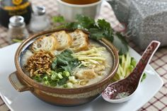 This simple and delicious Fish Congee is especially heart warming and satisfying on a cold day. It is light, tasty, and naturally gluten free.   Roti n Rice