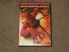 Spider-Man (DVD,Movie,2-Disc Set,Special Edition Widescreen,Action,Adventure)