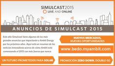 Crecimiento y gran Oportunidad representan los anuncios dados en Simulcast 2015 Ambit Energy...!