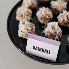 Hairballs---date nut cookies