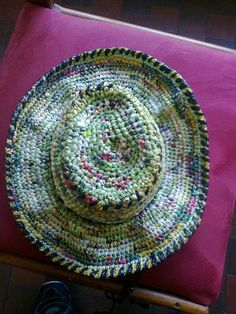 Upcycled Plastic bags in plastics accessories  with Recycled Plastic Bags Accessories - Using Plarn - Plastic yarn