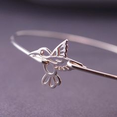 Hummingbird Jewelry Hummingbird Bracelet by georgiedesigns on Etsy, $36.00