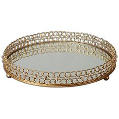 Uttermost 19807 Dipali Mirrored Tray -- Continue to the product at the image link.