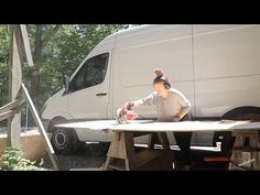 The One Where Actress Holland Roden Begins DIY Sprinter Van Conversion with No Building Experience! - YouTube