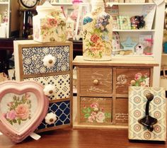 A small selection of vintages gifts stocked in Breda's Gift Shop!