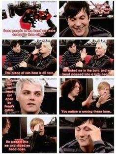 """My Chemical Romance from """"How dangerous is Frankie?"""""""