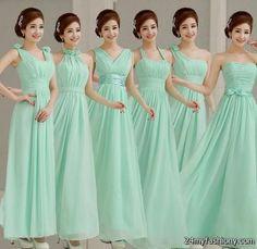mint green bridesmaid dresses 2016-2017 » B2B Fashion