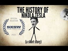 The History of Nikola Tesla - a Short Story, it's his brithday today, if you are using wireless thank him