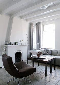 Eetkamer en chambre en suite deuren glas in lood project - Scheiding tegelvloer ...