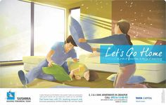 Let's Go Home   Get home loan with 5% booking amount only