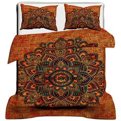 Item - 1 PC Mandala Duvet Cover with 2 PC Pillow Covers. Indian Screen Printed Mandala Cotton Duvet Cover, Quilt Cover in Twin/Queen/King size with pillow covers. Comforter Cover, Duvet Bedding, Bed Duvet Covers, Duvet Cover Sets, Comforter Sets, Bedspread, Mandala Comforter, Mandala Duvet Cover, Handmade Duvet Covers