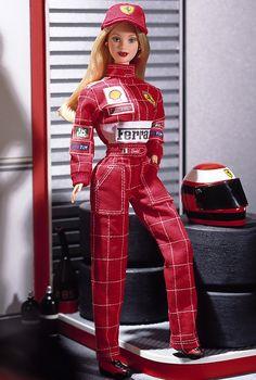 Scuderia Ferrari Barbie® Doll | Barbie Collector