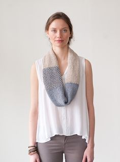 Alicia Plummer's clever summer cowl