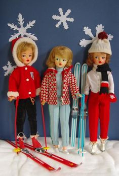 tammy doll - I had the ski outfit on the left