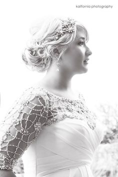 Wow!  What a stunning photo!  Photography by Kalifornia Photography.   Kansas City Weddings 