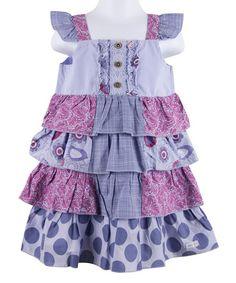 This Vista Tiered Patchwork Lawn Dress - Girls by Naartjie Kids is perfect! #zulilyfinds
