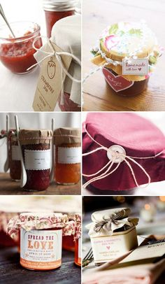 More yum jam favours!
