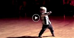 Funny and oh-so cute!! 2 year old...dancing The Jive to Elvis!