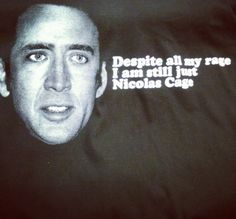 ♥ this shirt. (i'm not the only person who despises nicholas cage, right?