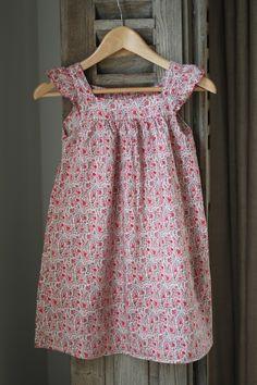 Love this Liberty print dress