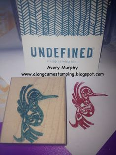 Along Came Stamping: Undefined Stamp Carving Kit - Native Art - Stampin' Up! #StampinUp #Undefined