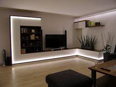 Nábytek na míru do obývacího pokoje. Deco, Flat Screen, Living Room, Dining Rooms, Homes, Blood Plasma, Flat Screen Display, Deko, Dekorasyon
