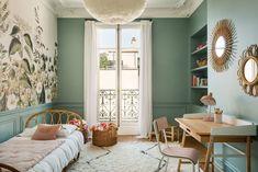 Dining Room Design, Interior Design Living Room, Home Bedroom, Bedroom Decor, Decoracion Vintage Chic, House Design, Home Decor, Architecture, Mirror