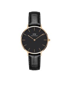 The Classic Petite Reading (Rose Gold) in Black