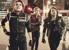 My Chemical Romance - Frank Iero, Gerard Way, Mikey Way