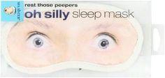 Bath Accessories Eye Mask Silly, Oh Man-GS