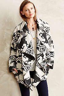 Anthropologie - Mustang Wrap Jacket